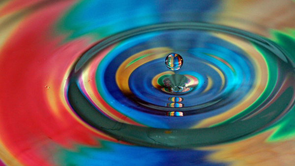 Ripples of Colour Scott Cresswell. Flickr CC BY