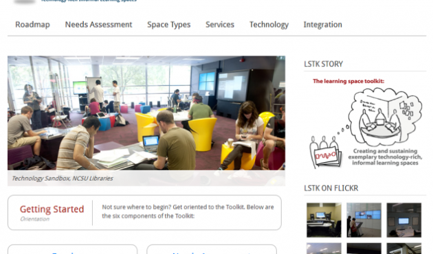 learning space toolkit website